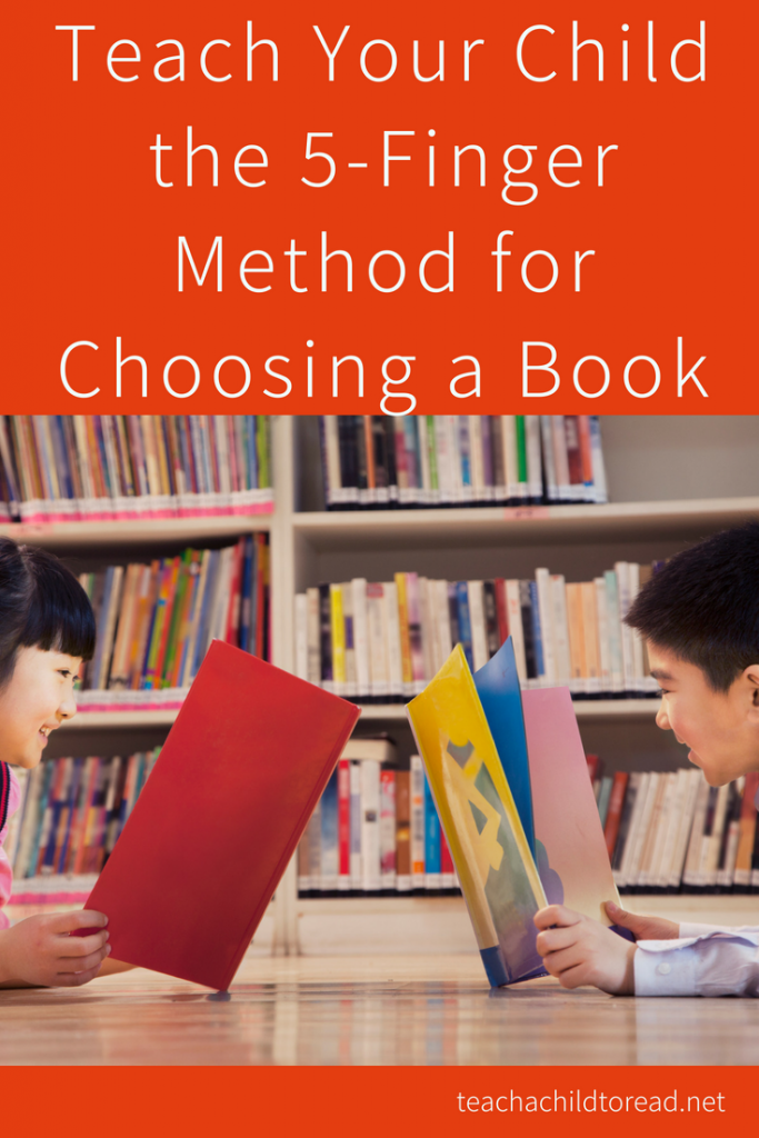 The Five Finger Method for Choosing a Book