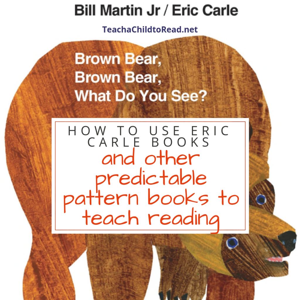 How to Use Eric Carle Books to Teach Reading
