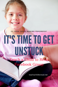 it's time to get unstuck teach a child to read
