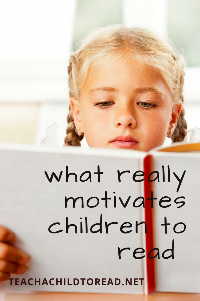 what really motivates children to read