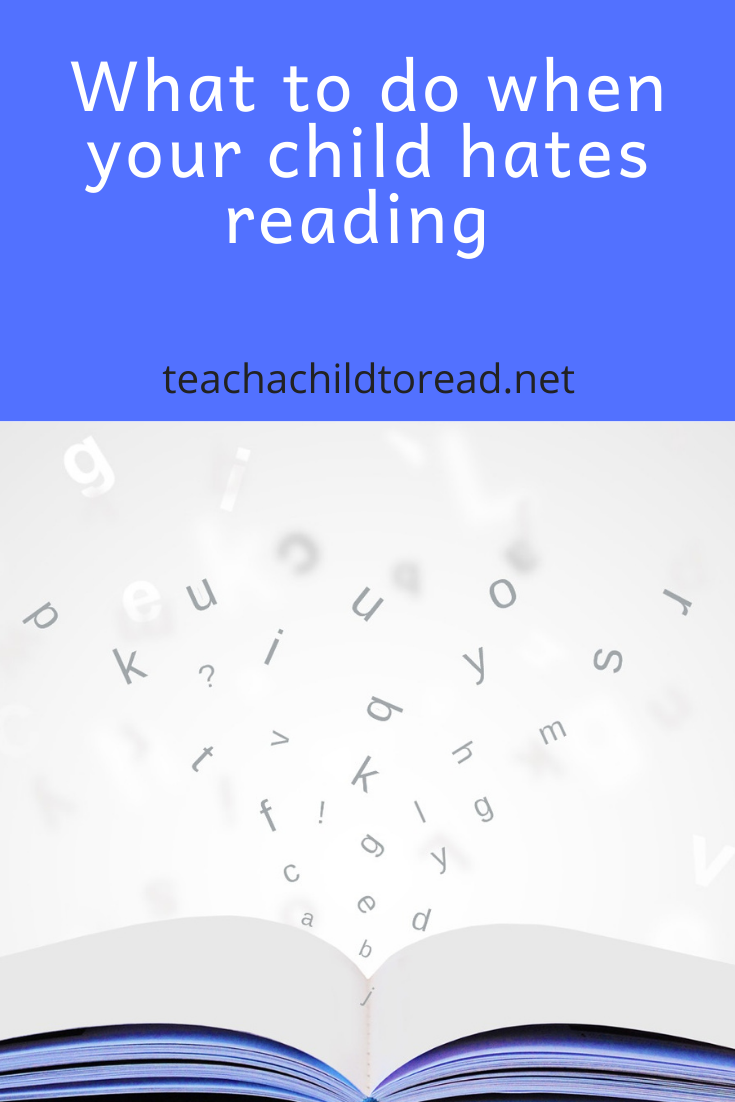 when your child hates reading